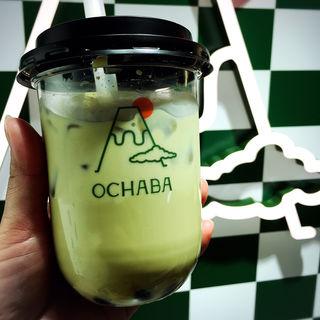 玄米茶ロイヤルミルクティー(日本茶ミルクティー専門店OCHABA)