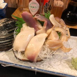 ホッキ貝の刺身(ほろよい )