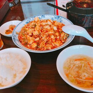 麻婆豆腐定食(中華料理 頤和園 大博多ビル店)