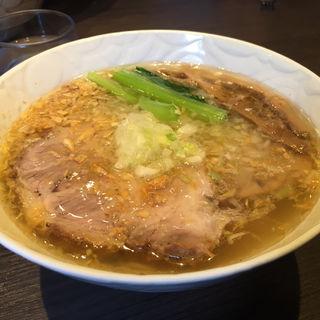 塩らぁ麺チャーシュー(支那そばや本店 )