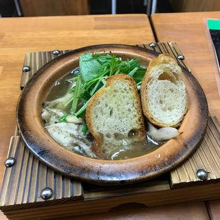 アヒージョ(姫路イタリアン酒場 MARUMASA 駅前店)