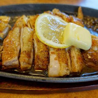 比内地鶏ステーキ(元祖 むらさき (がんそ むらさき))