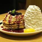 ブルーベリーレアチーズパンケーキ(期間限定)