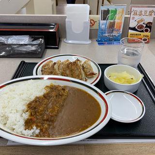 みよしのカレーセット大盛(みよしの 栄町店)