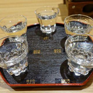 飲み比べ5種セット(別邸 つばき (【旧店名】男鹿グランドホテル))