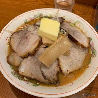 味噌チャーシューバターのせ(よし乃)