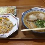 ラーメン チャーハンセット(元祖赤のれん節ちゃんラーメン 野間店 )