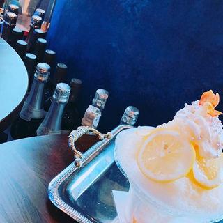 レモンマスカルポーネかき氷(カフェクレープ 六本木ヒルズ店 )