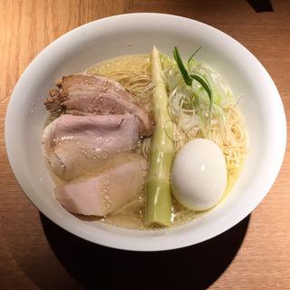 特製塩そば(楢製麺)