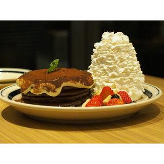 ココアティラミスパンケーキ(エッグスンシングス 梅田茶屋町店)