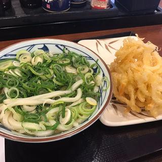 かけうどん&野菜天(丸亀製麺 福岡賀茂店 )