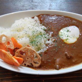 湯畑カレー