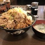 合盛りすた丼(伝説のすた丼屋 亀戸店 (スタドンヤ))
