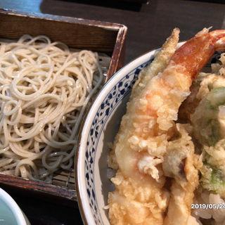 天丼セット(銀杏)