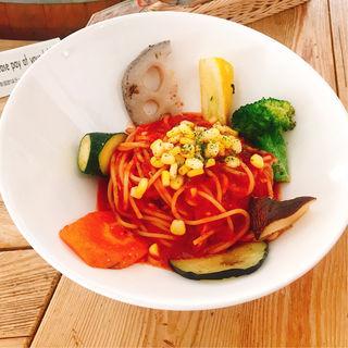 トマトパスタ(野菜がおいしいダイニング LONGING HOUSE (ヤサイガオイシイダイニング ロンギングハウス))