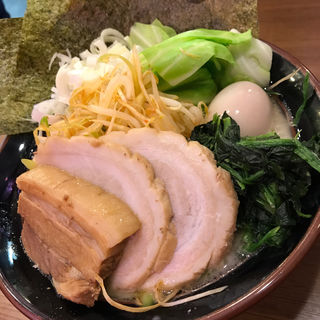 全部のせラーメン(醤油or塩)