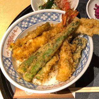 ハゲ天特製天丼(銀座 ハゲ天 丸の内MY PLAZA店 (はげてん))