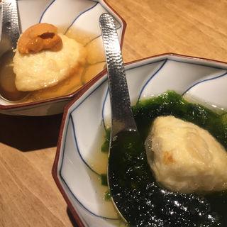 濃厚豆腐の揚げ出し(三原豆腐店)