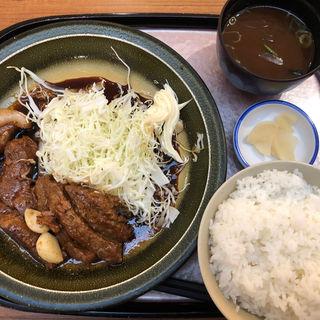 トンテキ定食(味蔵 東名阪自動車道御在所エクスパーザ上り線 )