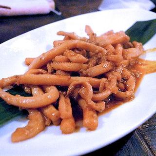 南インド イカのスパイス炒め(松記鶏飯 (SONG KEE JEE FAN))