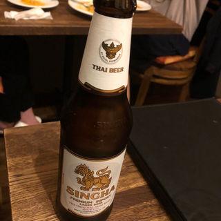 シンハービール(タイ料理 スワンナプームタイ)