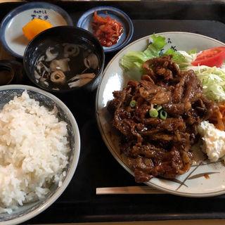 焼肉定食(肉のやしろ 青木亭 (ニクノヤシロアオキテイ))