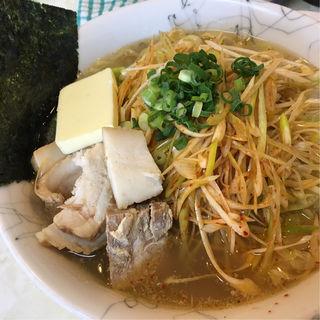 新ネギ麺(大雄ラーメン向井町店)