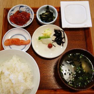 すじこ明太子納豆定食(しゃけ小島 中洲店 )