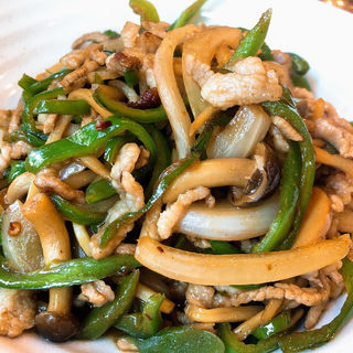 豚肉とピーマン炒め(中国料理大幸 )