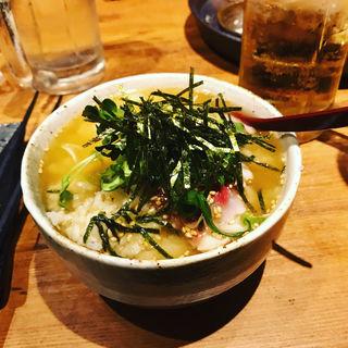 ごま勘八茶漬け(薩摩地鶏と個室居酒屋 藁火 新宿店)