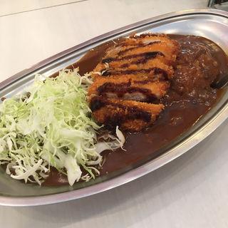 ジャンボLカツカレー(カレーのチャンピオン 栄プリンセス店 )