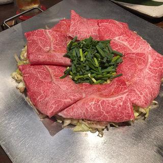 炊き肉(カルビ・ロース・いか)