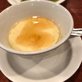 梅入り茶碗蒸し(ガンジューヤ)