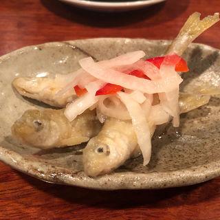 わかさぎマリネ(ガンジューヤ)