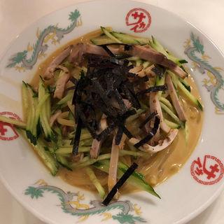 冷麺(焼豚)