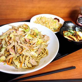 皿うどん定食(中国北方料理 知味観 )