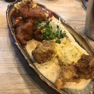 鶏の唐揚げタルタルソース(福島壱麺 (イチメン))