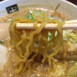 味噌+煮卵(大島)