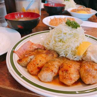 カキバター焼定食(かつれつ四谷たけだ )