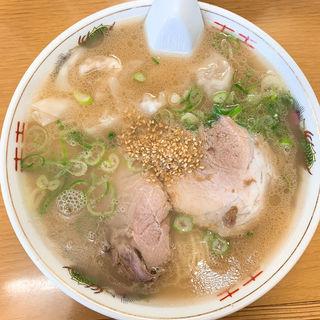 ワンタン麺(江ちゃんラーメン)