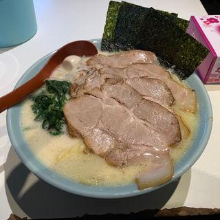 塩豚骨ラーメン  太麺  麺増し