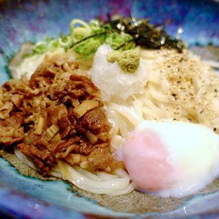 肉玉ぶっかけ(うどん屋麺之介 大阪店 )