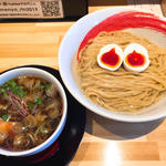 昆布水の醤油つけ麺(麺や 凛)