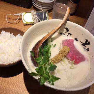 牛白湯(牛骨ら〜めん ぶっこ志 北浜店)