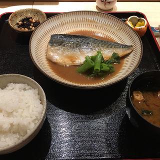 サバ味噌定食(いろ川 (おさかな食道 いろ川))