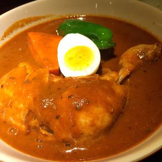 チキンスープカレー(横浜BAY・らっきょ)