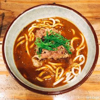牛しぐれカレーUDON(麺屋坂本01)