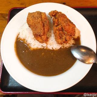 鶏唐揚げカレーライス(豊後屋 (ぶんごや))