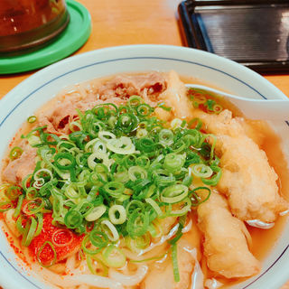 肉うどん(うどんウエスト祇園店)