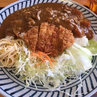 びっくりトンカツカレー(1.5kg)(伊賀ドライブイン )